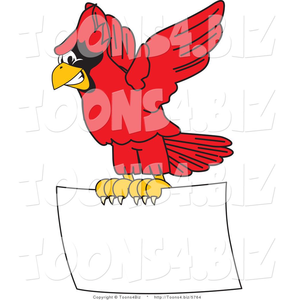 red cardinal bird flying