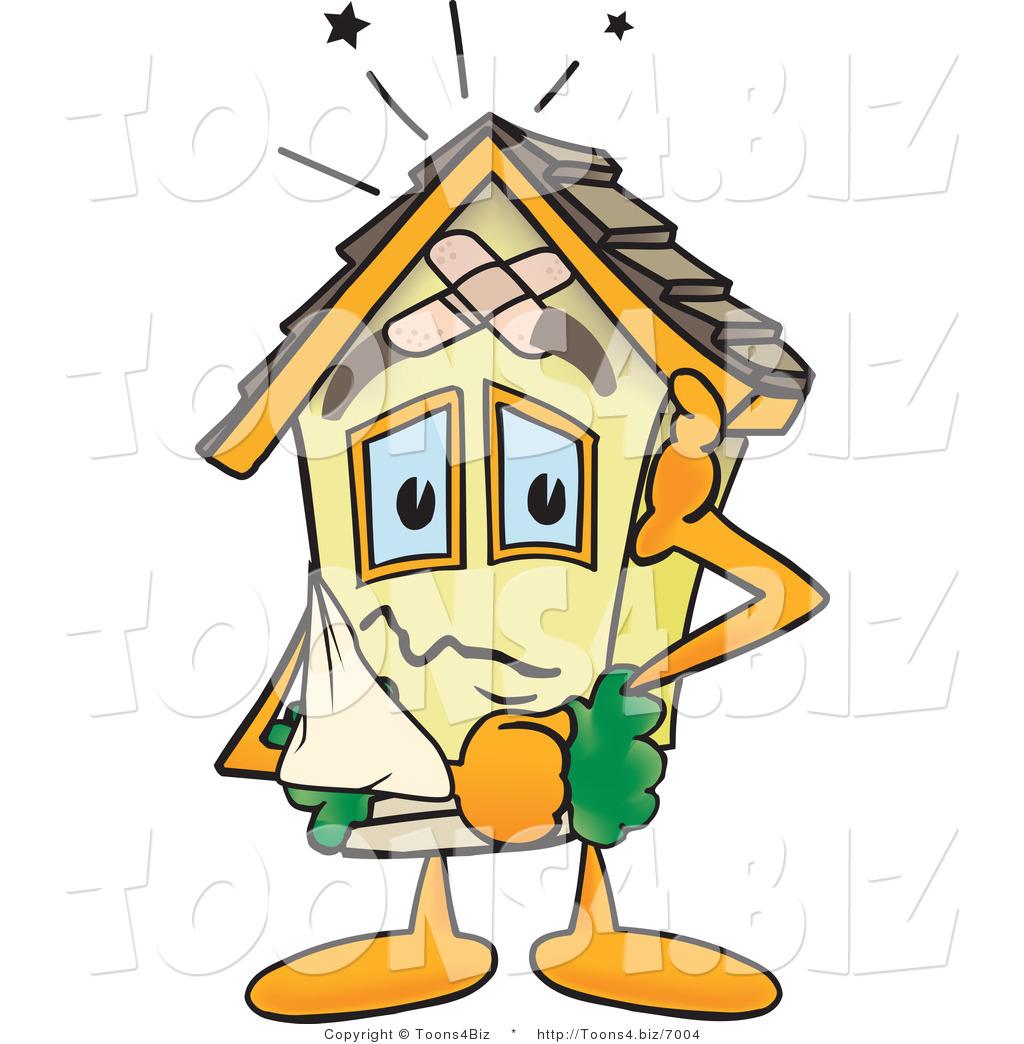 Cartoon window related keywords amp suggestions cartoon window long - Filename Vector Illustration Of A Damaged Cartoon Home Mascot By Toons4biz 7004 Jpg