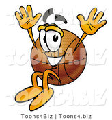 Illustration of a Basketball Mascot by Toons4Biz
