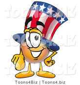 Illustration of a Cartoon Uncle Sam Mascot Pointing at the Viewer by Toons4Biz