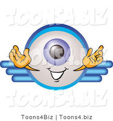 Illustration of a Eyeball Mascot on a Business Logo by Toons4Biz