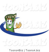 Vector Illustration of a Carpet Roll Mascot Logo by Toons4Biz