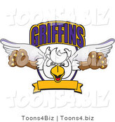Vector Illustration of a Cartoon Griffins Mascot Logo by Toons4Biz