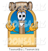 Vector Illustration of a Cartoon Mallet Mascot by Toons4Biz