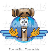 Vector Illustration of a Cartoon Mallet Mascot Logo by Toons4Biz