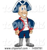 Vector Illustration of a Cartoon Patriot Mascot by Toons4Biz