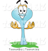 Vector Illustration of a Cartoon Water Tower Mascot - 2 by Toons4Biz