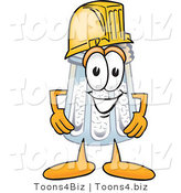Vector Illustration of a Salt Shaker Mascot Wearing a Helmet by Toons4Biz