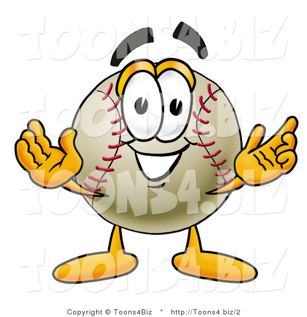 Illustration of a Friendly Baseball