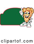 Vector Illustration of a Happy Pizza Mascot Character Sign or Logo 5 by Toons4Biz